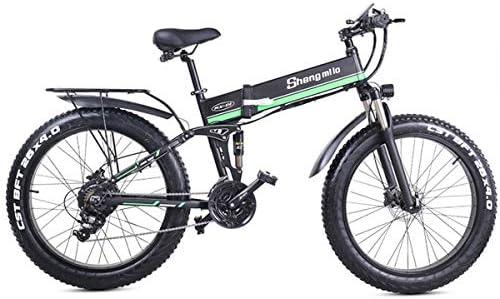 JARONOON MX01 Bicicleta eléctrica Plegable de 26 Pulgadas, Potente ...