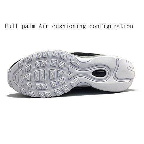 Qs Pied Chaussures Femme De Noir 97 Course Et Invaincu Essential Blanc Mode Air Premium Baskets Homme Pour w7qEnCnzgO