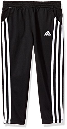 adidas Little Girls' Yrc Warm up Tricot Pant, Black,5 (Pant Tricot)