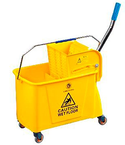 20 Litre Kentucky Mop Bucket Professional Commercial Cleaning Combo Bucket ELITE YELLOW ✔ FREE DELIVERY ✔ UK SELLER ✔PREMIUM QUALITY✔