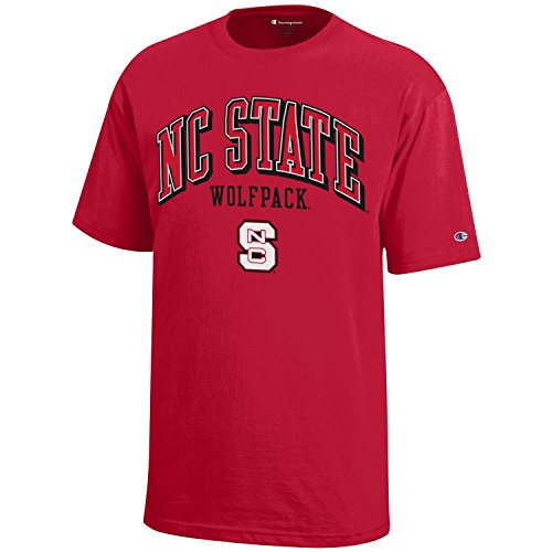 Nc State Wolfpack T-shirt - NCAA Champion Boy's Short Sleeve Jersey T-Shirt NC State Wolfpack Medium