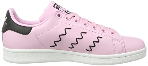 Smith Pink Pink Collo Black Rosa Adidas wonder Stan Basso core Sneaker Donna A wonder 5wpUpqxP