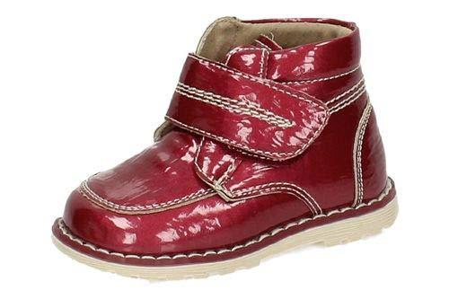 BONINO 1-NS844F-12 Botitas DE Piel NIÑA Botas-Botines Burdeos 23: Amazon.es: Zapatos y complementos