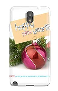 New Style Case Cover XolwBOk9297ChIfC Happy New Year 2 Compatible With Galaxy Note 3 Protection Case