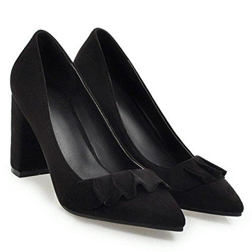On Women's TAOFFEN Court Heels Shoes Black Slip qPwTwxa