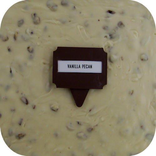 Home Made Creamy Fudge - 1 Lb Box Vanilla Pecan - Chocolate Vanilla Fudge