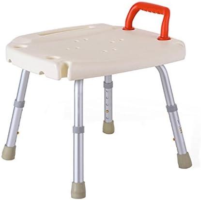 Cqq Badestuhl Leichter höhenverstellbarer Duschstuhl - Anwendbar für ältere Menschen, Schwangere und Behinderte (größe : A)