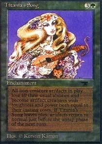 Magic The Gathering - Titania