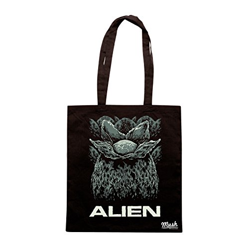 Borsa ALIEN INFIORESCENZA - Nera - FILM by Mush Dress Your Style