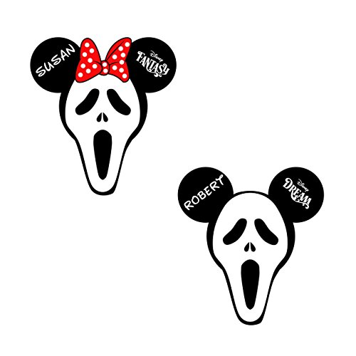 Halloween Screaming Mask Head Magnet || Disney Cruise Halloween Door Magnet || Halloween Disney Cruise Magnets -