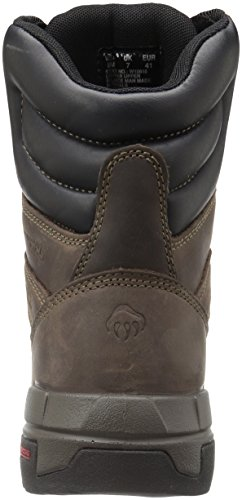Shoe Brown Toe Legend Wolverine Dark Men's Work 8 Comp Waterproof Inch Onvw8Zq