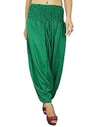 Fashionable Striped Harem Women Wear Rayon Pants Warm Trouser Indian Women Clothing