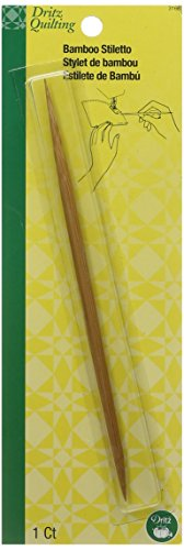 Bamboo Stiletto (Dritz Quilting Bamboo Stiletto)