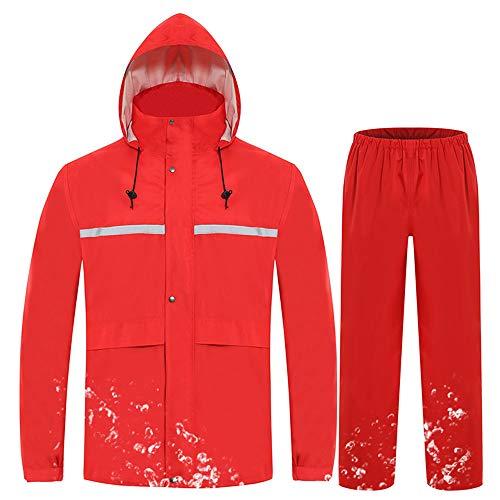 pluie rouge et Costume de Raincoatveste Gongyu adulte costume pour de épaisse imperméable QxEBoedCWr