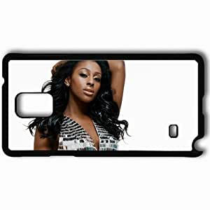 Personalized Samsung Note 4 Cell phone Case/Cover Skin Alexandra Burke Black