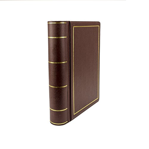 Hylson Minute Books from Blumberg (Binder with 250 Sheets Minute Paper, Letter Size, Red Imitation Leather)