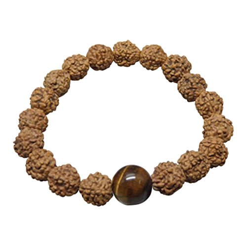 (ARIHANT GEMS & JEWELS Five Faced Panchmukhi Rudraksha Seeds Loose Beads, Rudraksha Beads (Elaeocarpus ganitrus) 100% Original & Certified)
