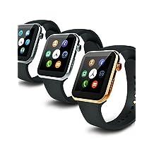 533MAH MTK2502C Bluetooth 4.0 Smart Watch(Sapphire Glass, Pedometer, Heart Rate, Waterproof, Anti-lost) , silver