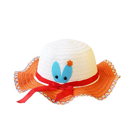 Price comparison product image Baby Summer Breathable Straw Hat for Boy Girls Cap by WOCACHI Back to School Clearance Sale