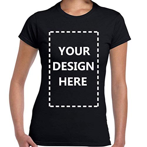 Personalized Custom T-Shirts Cotton for Women Add Your Own Design Text Picture Printing