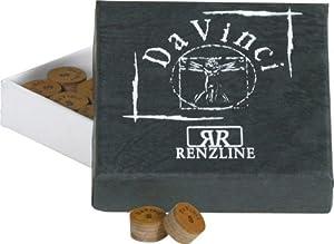 Da Vinci Mehrschicht Klebleder, Billard Queue Leder, 13mm, Typ:13 mm. weich....