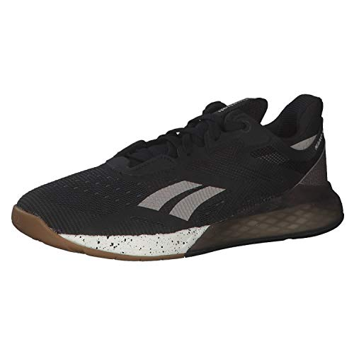 Reebok Women's Fitness and Exercise Shoes, Black Moodus Chalk