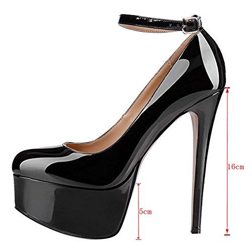 MERUMOTE - Zapatos de Tacón Mujer negro
