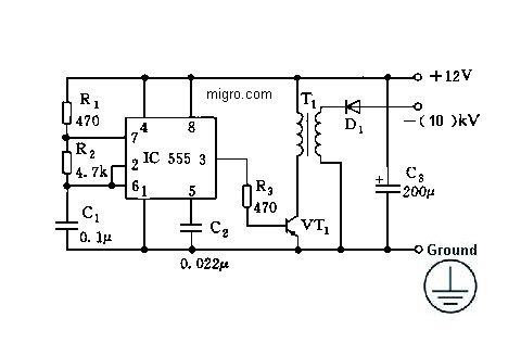 12v negative ion generator high voltage ionizer 9 5kv module rh airpurifierworld net Best Negative Ion Generators High Density Negative Ion Generators