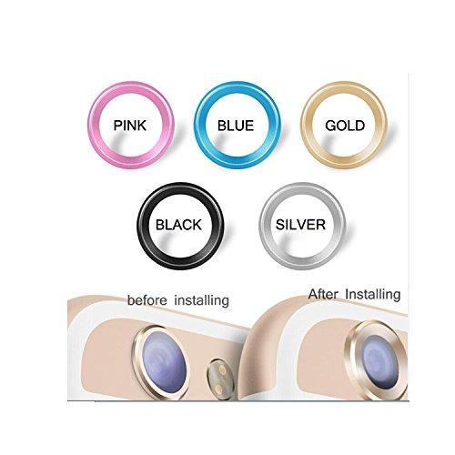 "iPhone 6 4.7"" Camera Lens Protector, Aitoo Camera Lens Metal Protective Ring Guard Circle Protector for iPhone 6 4.7 - 1 PC (Pink)"