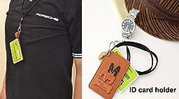 Rabbit Leather Animal Pass/ID/Credit/Card Holder/Case *VANCA* Handmade in Japan