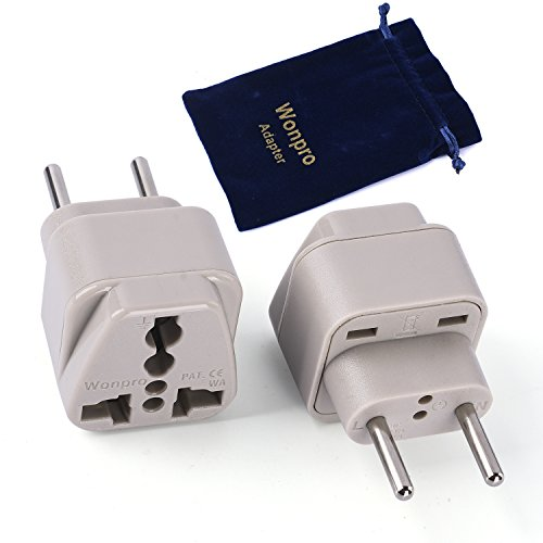 Wonpro Travel Adapter Germany Certified
