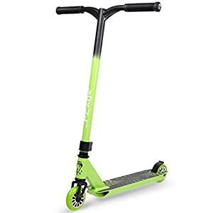 """VOKUL TRII S Freestyle Tricks Pro Stunt Scooter - Best Entry Level Pro Scooter - 20"""" W23.2 H CrMo4130 Chromoly Handlebar - Reinforced 20"""" L4.1 W Deck,Integral Stable Performance"""