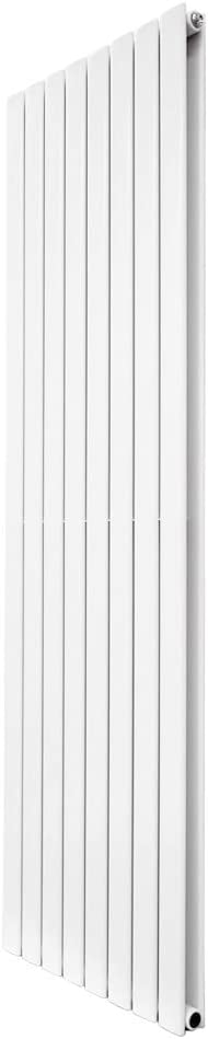 Perfect for Bathrooms Hallway Modern Central Heating Space Saving Radiators Living Room Kitchen WarmeHaus Horizontal Designer Radiator Flat Panel Modern Heating Single Grey 600x600mm