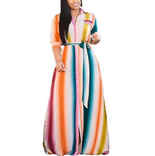 IyMoo Plus Size Boho Dresses