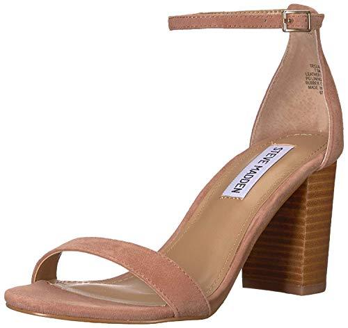 Steve Madden Women's DECLAIR Heeled Sandal, tan Multi, 10 M US