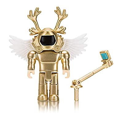 Roblox Simoon68: Golden God 3.5 Inch Figure with Exclusive Virtual Item Code: Toys & Games