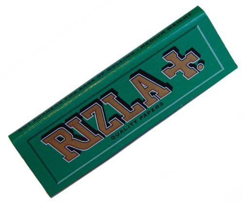 (20 PACKETS/BOOKLETS OF RIZLA GREEN CIGARETTE TOBACCO ROLLING PAPERS (1000 PAPERS))