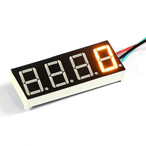 DEOK 60-9999 r Digitaler Tacho Geschwindigkeitsmesser Gelbe LED-Anzeige 7-30V DC