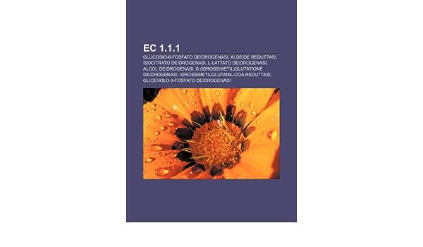 EC 1.1.1: Glucosio-6-fosfato deidrogenasi, Aldeide reduttasi ...