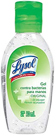 Lysol Gel Antibacterial para Manos, 50ml