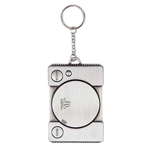 PlayStation 1st Generation Console Metal Keyring ()
