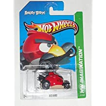 RARE ANGRY BIRDS HOT WHEELS RED BIRD VEHICLES 2013