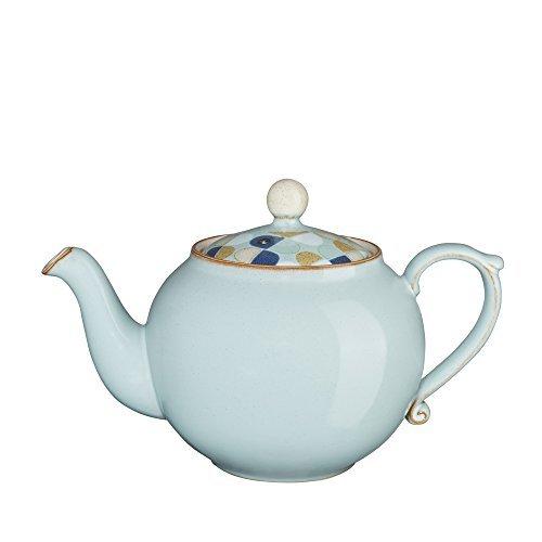 Denby Heritage Pavilion Teapot, Blue by Denby