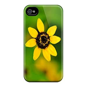 New Fashionable ShirleyZelaya BiwbDiL3894zgQfu Cover Case Specially Made For Iphone 4/4s(yellow Flower)