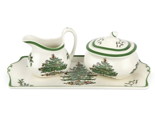 (Spode Christmas Tree 3-Piece Serving Set)