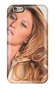 New Shockproof Protection Case Cover For Iphone 6/ Gisele Bundchen Beige Top Case Cover