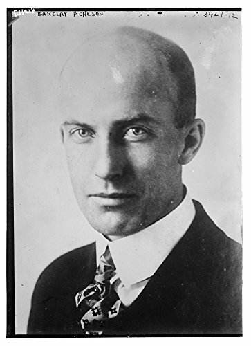 1927 Photo Barclay Acheson Barclay Acheson, an official of the Near East Relief organization who was in New York City in January 1927 to attend a meeting of the group. (Source: Flickr Commons project, by Historic Photos
