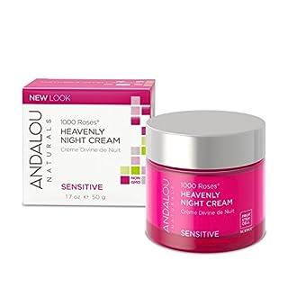 Andalou Naturals Resveratrol Q10 Night Repair Cream, 1.7 oz, For Dry Skin
