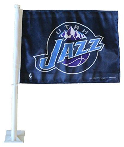 Utah Jazz - NBA Car Flag