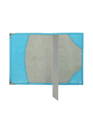 Aspinal Of London Mujer 062045317380000 Azul Claro Cuero Carpeta De Documentos